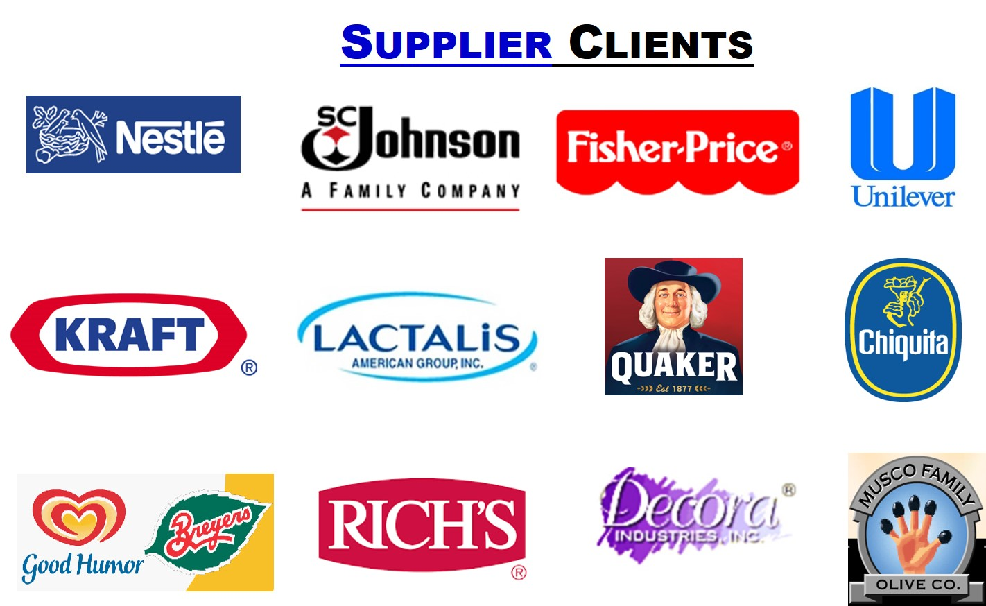Supplier Clients USED 3 17 16 1